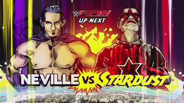 Neville Stardust comic cover WWE